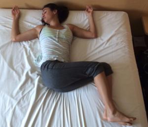 yoga poses to help you sleep