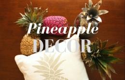 Rio Olympics Inspo: Pineapple Decor!