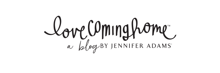 Love Coming Home by Jennifer Adams