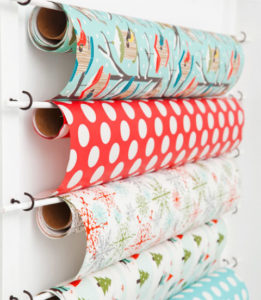 wrapping-paper-wall