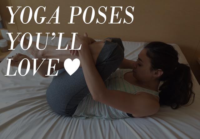 5 yoga poses designed to help you sleep better!