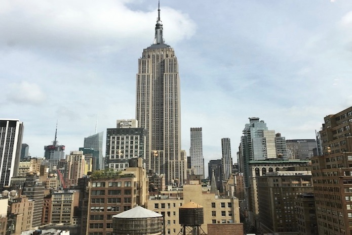 New York Market skyline