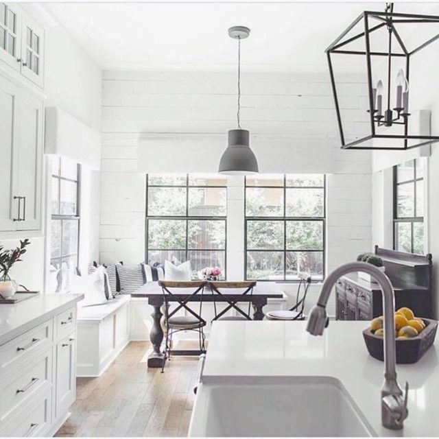 Im totally for this gorgeous and inspiring kitchen from housesprucing